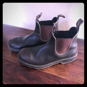 Blundstone Classic 500 Slip on Ankle Boots